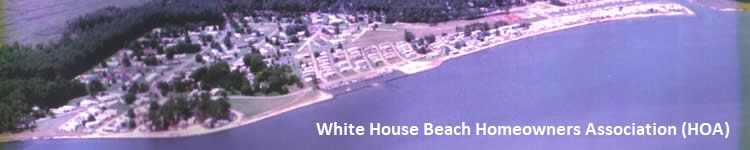 Welcome to the White House Beach Homeowners Association (HOA), Long Neck, DE